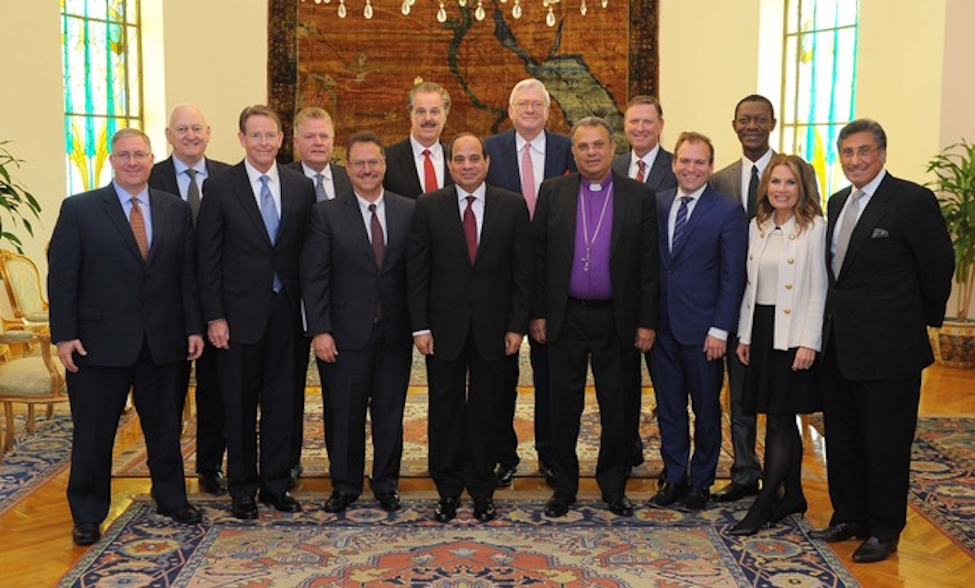 Egypt Delegation (including Dr. Michael Youssef)