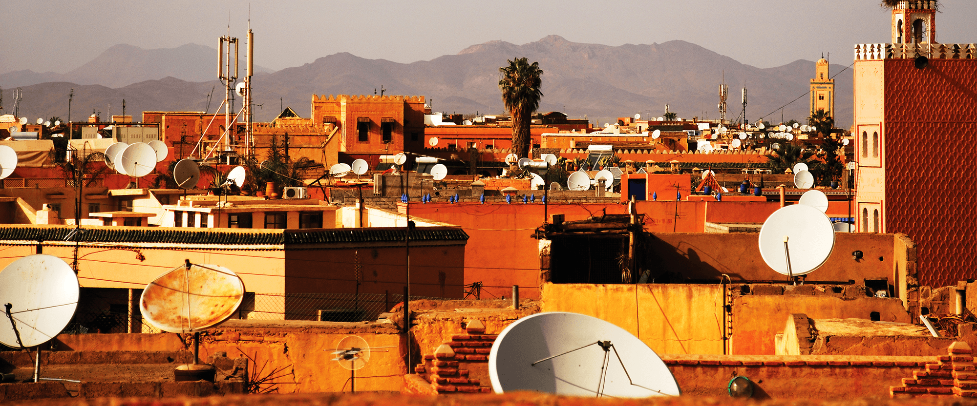 Rooftops in Lebanon